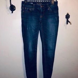 DECREE ladies dark denim super skinny jeans 👖